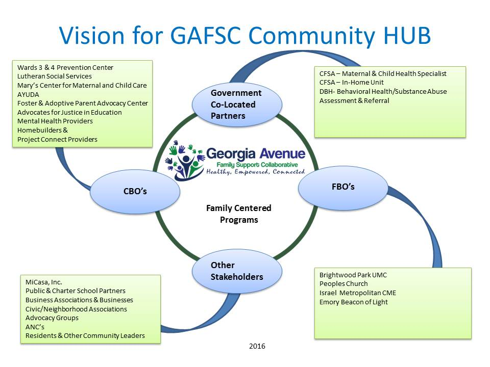 Vison for GAFSC Community HUB 2016