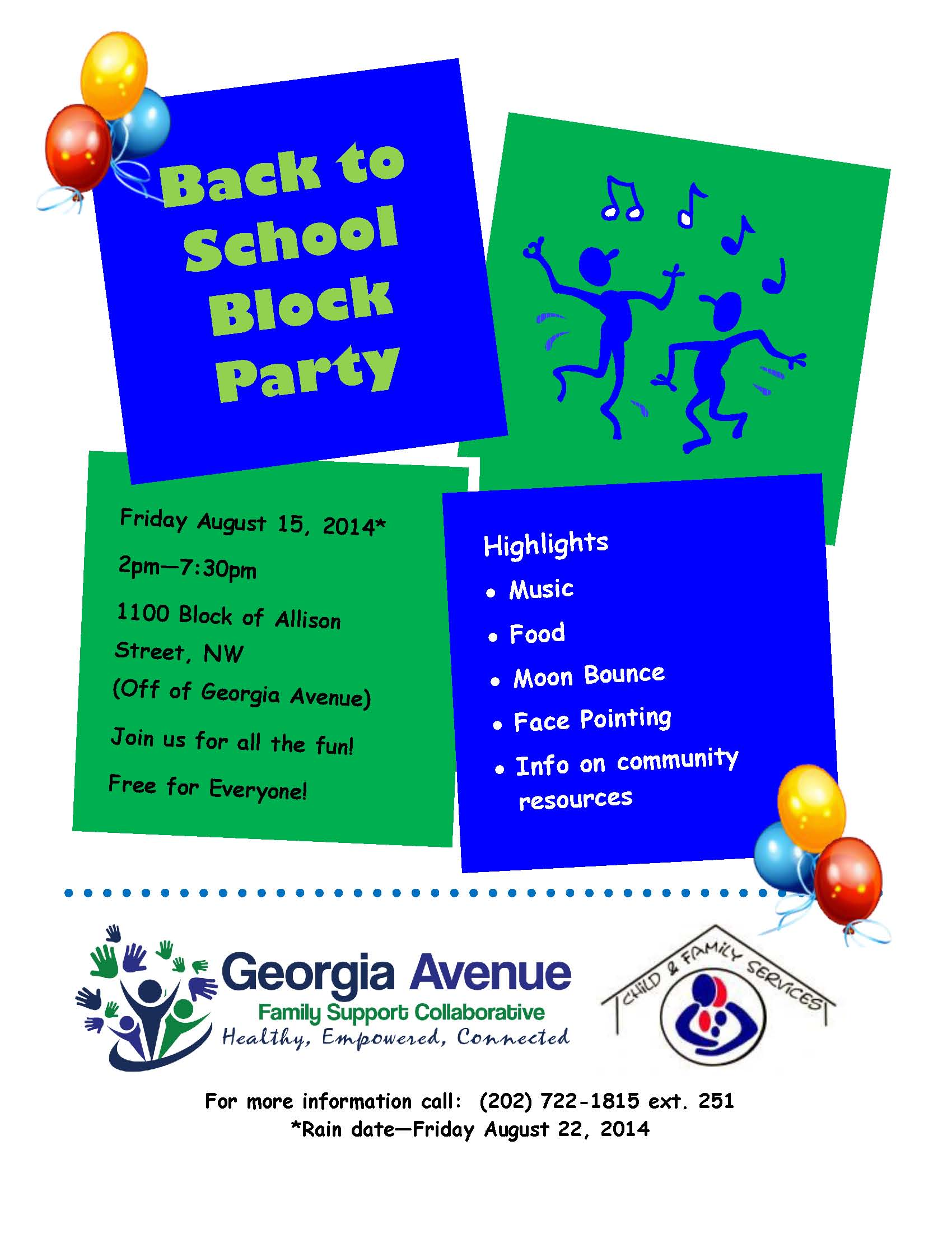 2014 Back to School Block Party